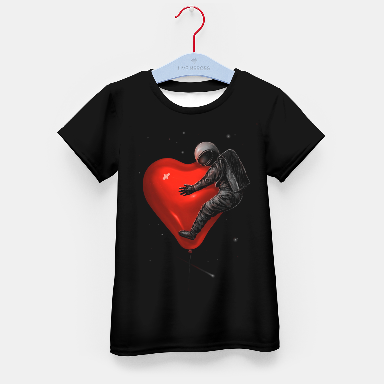 Image of Space Love Kid's t-shirt - Live Heroes