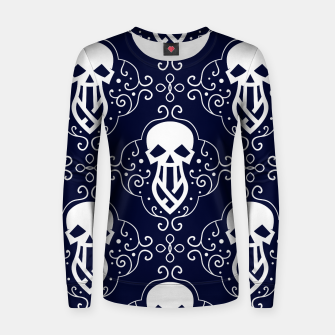 Thumbnail image of Skull Pattern - 03 Women sweater, Live Heroes