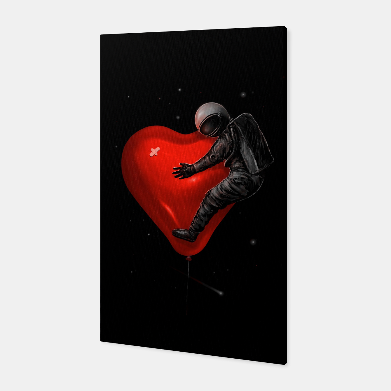 Image of Space Love Canvas - Live Heroes