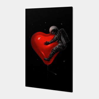 Space Love Canvas thumbnail image