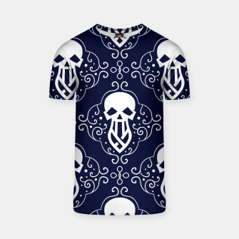 Thumbnail image of Skull Pattern - 03 T-shirt, Live Heroes