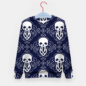 Thumbnail image of Skull Pattern - 03 Kid's sweater, Live Heroes