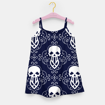 Thumbnail image of Skull Pattern - 03 Girl's dress, Live Heroes