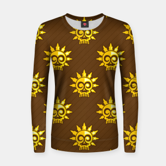 Thumbnail image of Skull Pattern - 04 Women sweater, Live Heroes