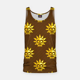 Thumbnail image of Skull Pattern - 04 Tank Top, Live Heroes