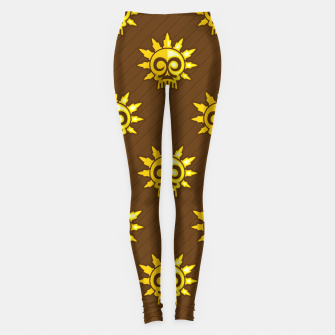 Thumbnail image of Skull Pattern - 04 Leggings, Live Heroes