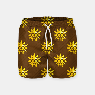 Thumbnail image of Skull Pattern - 04 Swim Shorts, Live Heroes