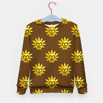 Thumbnail image of Skull Pattern - 04 Kid's sweater, Live Heroes