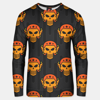 Thumbnail image of Skull Pattern - 05 Unisex sweater, Live Heroes