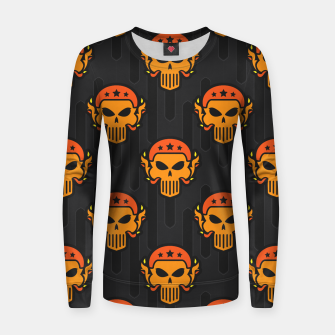 Thumbnail image of Skull Pattern - 05 Women sweater, Live Heroes