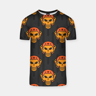 Thumbnail image of Skull Pattern - 05 T-shirt, Live Heroes