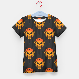 Thumbnail image of Skull Pattern - 05 Kid's t-shirt, Live Heroes