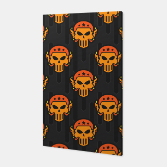 Thumbnail image of Skull Pattern - 05 Canvas, Live Heroes