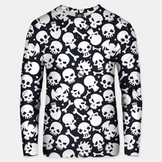 Thumbnail image of Skull Pattern - 06 Unisex sweater, Live Heroes