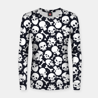 Thumbnail image of Skull Pattern - 06 Women sweater, Live Heroes