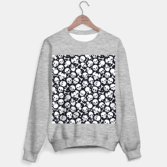 Thumbnail image of Skull Pattern - 06 Sweater regular, Live Heroes