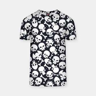 Thumbnail image of Skull Pattern - 06 T-shirt, Live Heroes