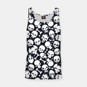 Thumbnail image of Skull Pattern - 06 Tank Top, Live Heroes