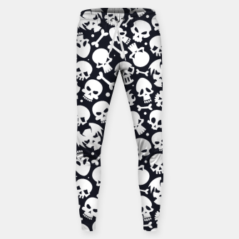 Thumbnail image of Skull Pattern - 06 Sweatpants, Live Heroes