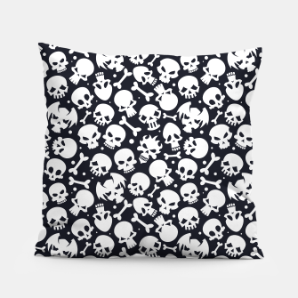 Thumbnail image of Skull Pattern - 06 Pillow, Live Heroes