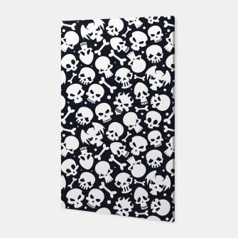 Thumbnail image of Skull Pattern - 06 Canvas, Live Heroes