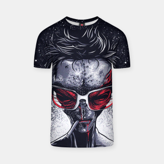 Thumbnail image of Alien Hipster T-shirt, Live Heroes