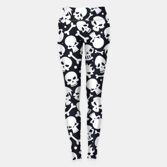 Thumbnail image of Skull Pattern - 06 Leggings, Live Heroes