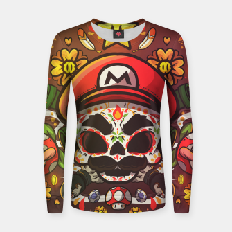 Thumbnail image of Freak Super Mario Women sweater, Live Heroes