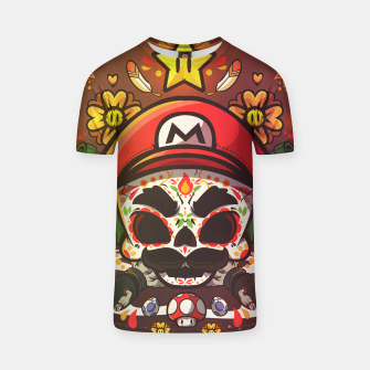 Thumbnail image of Freak Super Mario T-shirt, Live Heroes