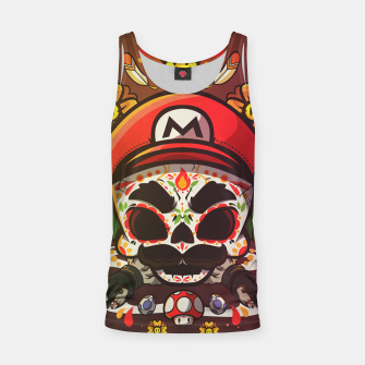 Thumbnail image of Freak Super Mario Tank Top, Live Heroes
