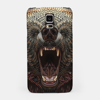 Thumbnail image of Angry Grizzly Bear Samsung Case, Live Heroes