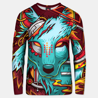 Miniatur Electric Wolf Unisex sweater, Live Heroes