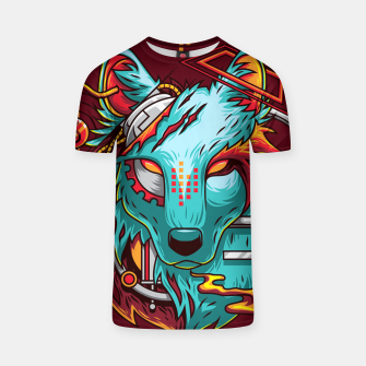 Thumbnail image of Electric Wolf T-shirt, Live Heroes