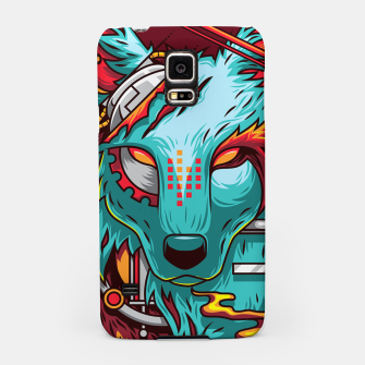 Thumbnail image of Electric Wolf Samsung Case, Live Heroes