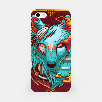 Miniatur Electric Wolf iPhone Case, Live Heroes
