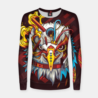 Miniatur Electric Eagle Women sweater, Live Heroes