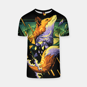 Thumbnail image of Hipster Fox T-shirt, Live Heroes