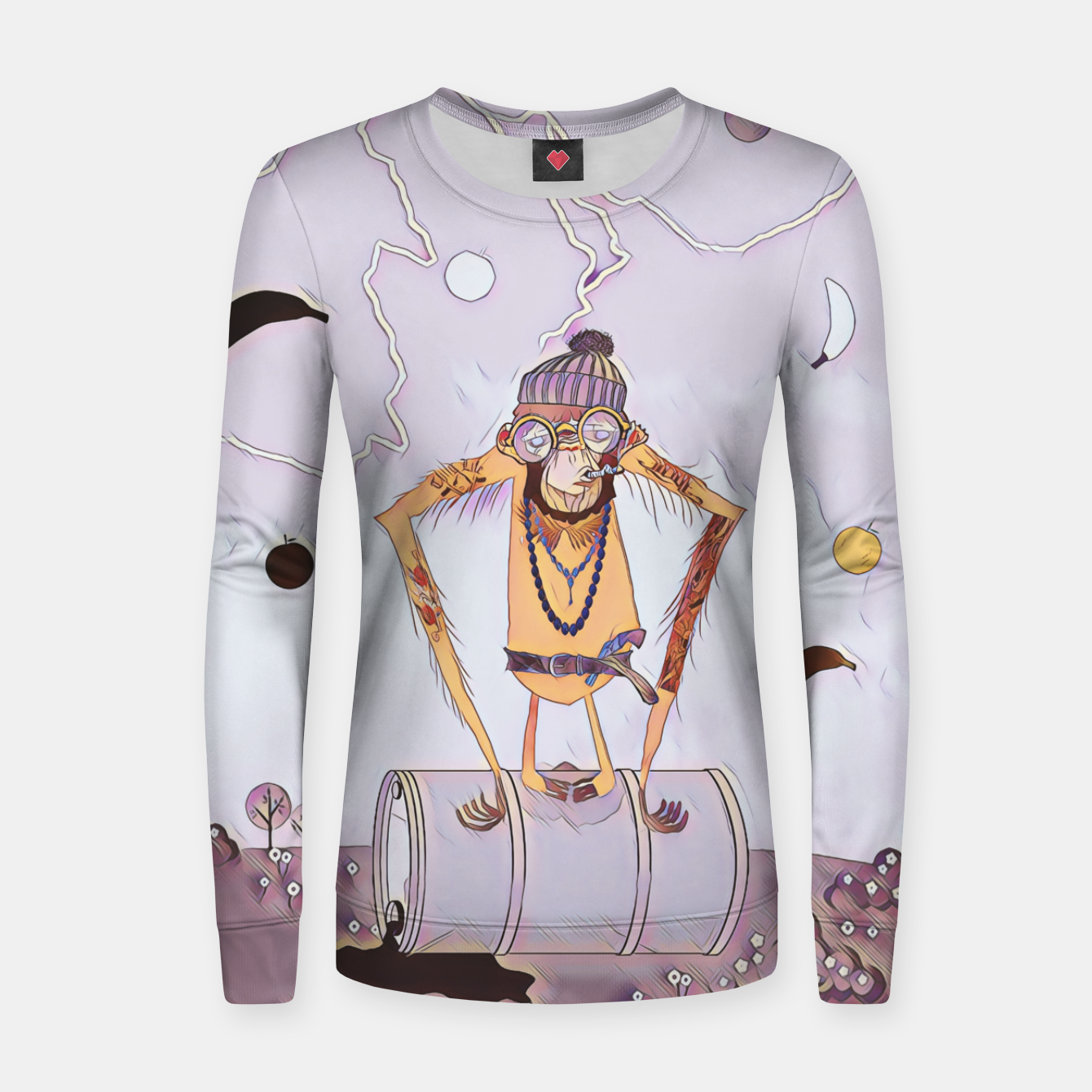 Image of Monkey Women sweater - Live Heroes