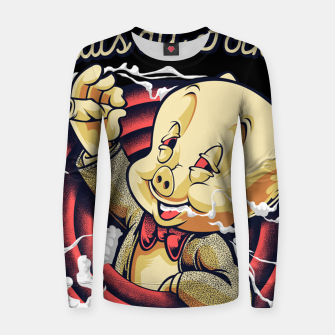 Thumbnail image of Thats All Folks Women sweater, Live Heroes