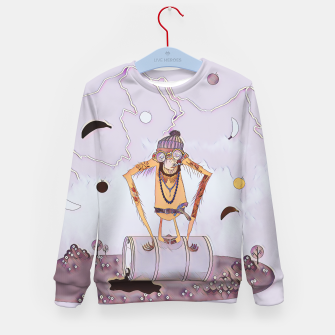 Miniatur Monkey Kid's sweater, Live Heroes