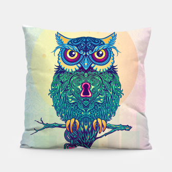 Thumbnail image of Loving Owl Pillow, Live Heroes