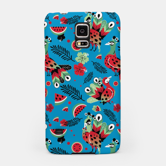 Thumbnail image of Peacocks and Watermelons Samsung Case, Live Heroes