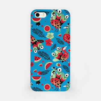 Thumbnail image of Peacocks and Watermelons iPhone Case, Live Heroes