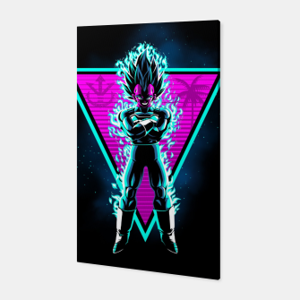 Thumbnail image of Retro prince warrior Canvas, Live Heroes