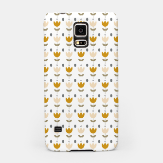 Thumbnail image of Simple floral pattern Carcasa por Samsung, Live Heroes
