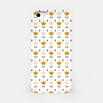 Thumbnail image of Simple floral pattern Carcasa por Iphone, Live Heroes