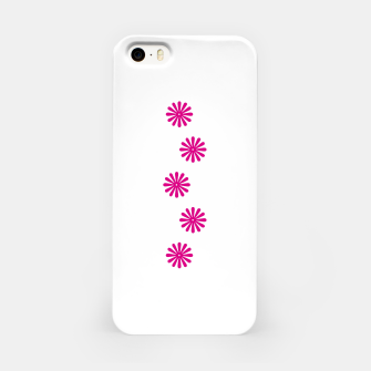 Thumbnail image of Magenta Flowers Design iPhone Case, Live Heroes