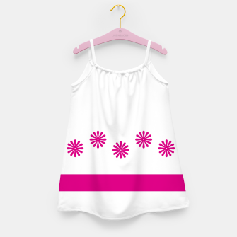 Thumbnail image of Magenta Flowers Design Girl's dress, Live Heroes