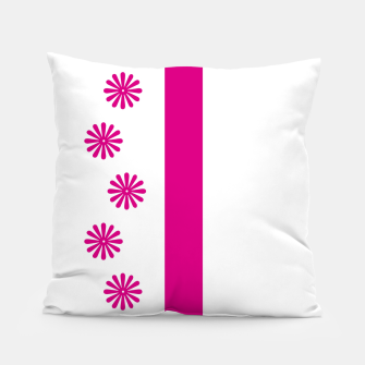 Thumbnail image of Magenta Flowers Design Pillow, Live Heroes