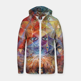 Duality Zip up hoodie thumbnail image
